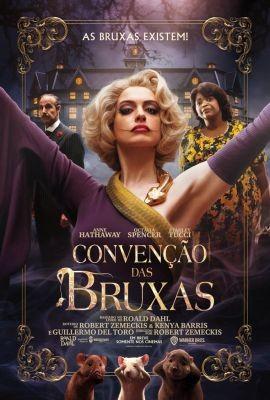 Polo Shopping Indaiatuba Topazio Cinema Filme Convencao das Bruxas Anne Hathaway Octavia Spencer Stanley Tucci Chris Rock