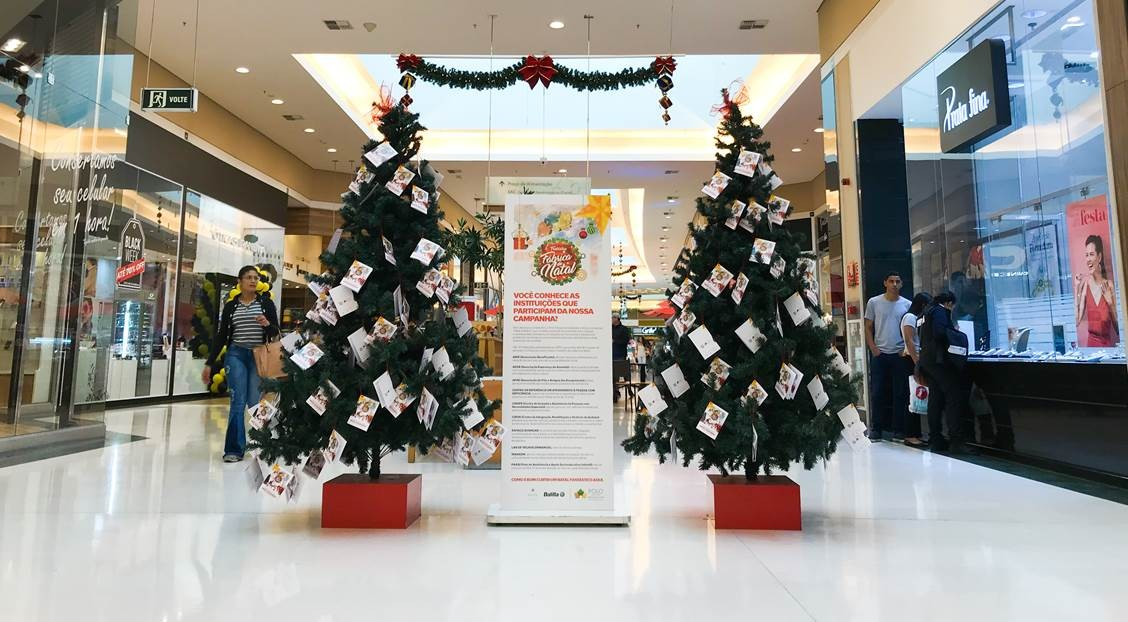 Natal Solidario Polo Shopping Indaiatuba