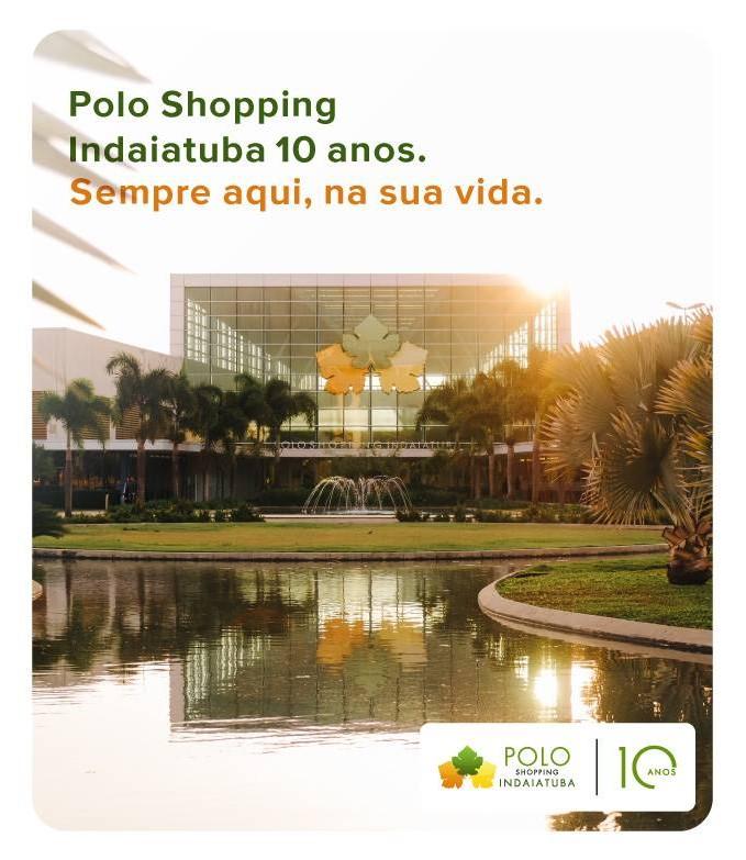 Polo Shopping Indaiatuba 10 anos